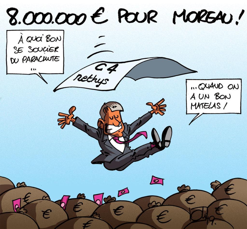 8 millions pour Moreau