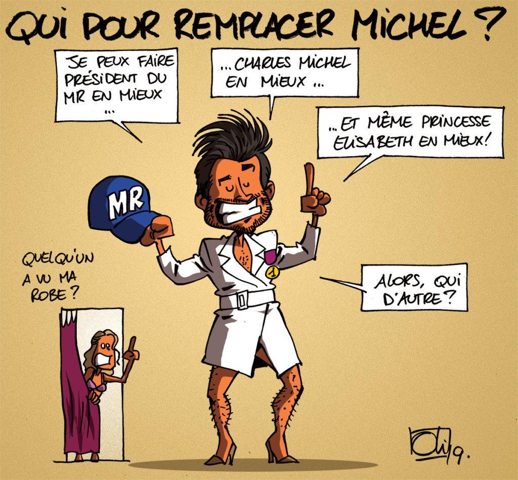 Charles Michel s'en va plus tôt !