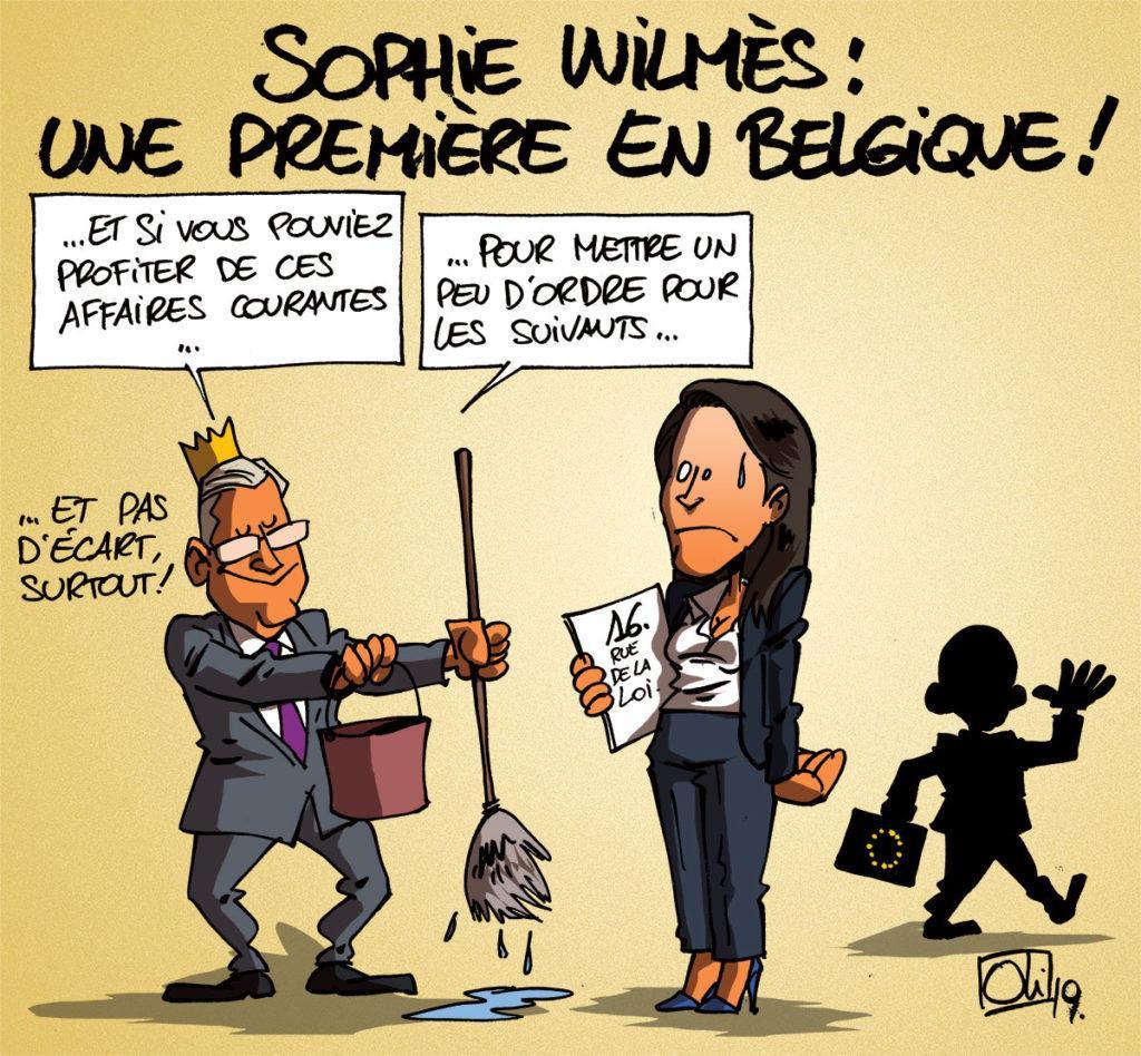 Sophie Wilmès, première ministre !