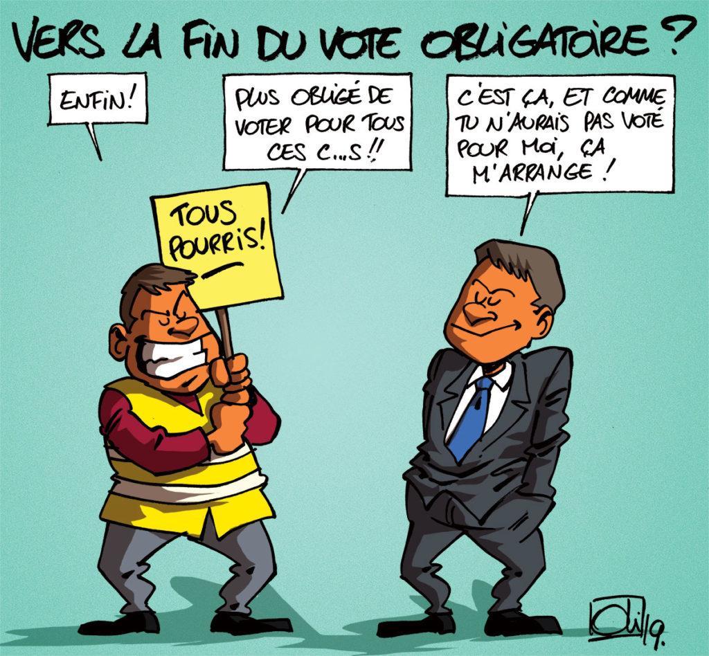 La fin du vote obligatoire en Belgique