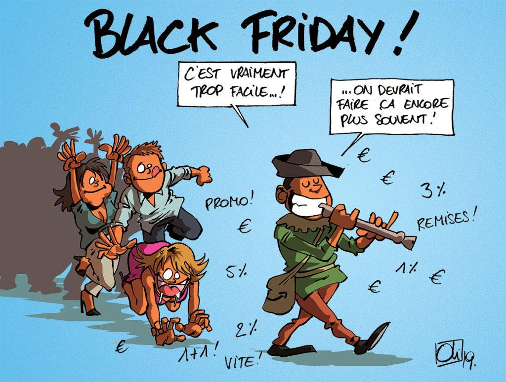 Black Friday, Cyber Monday...