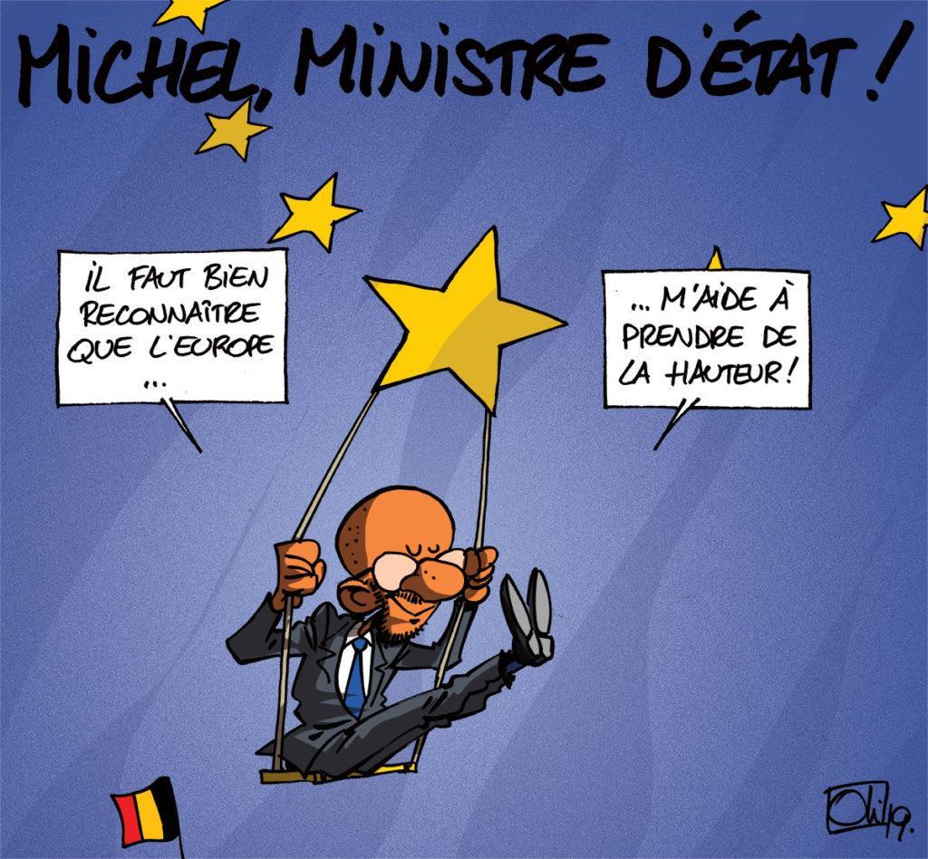 Michel, le ministre d'état
