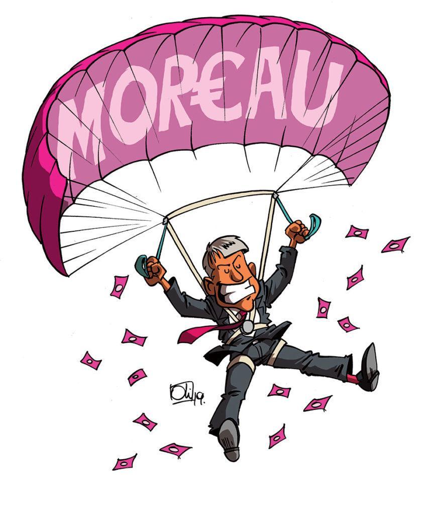 Moreau, l'homme qui tombe à pic !