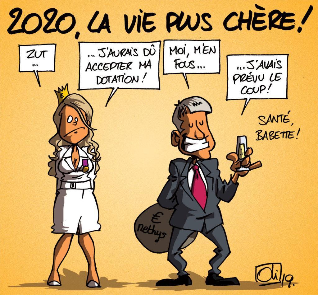 2020 plus chère !