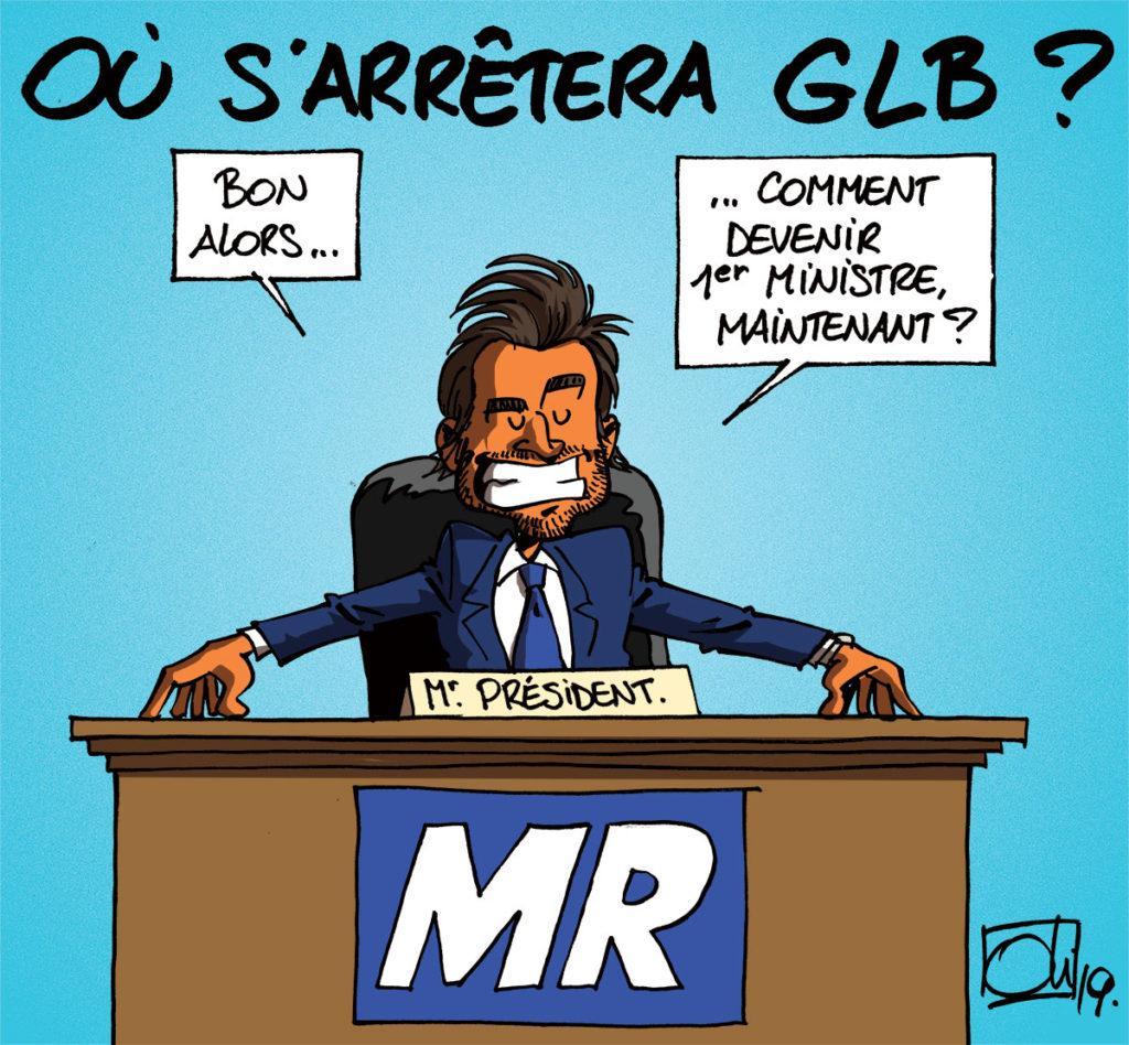 GLB à la tête du MR !