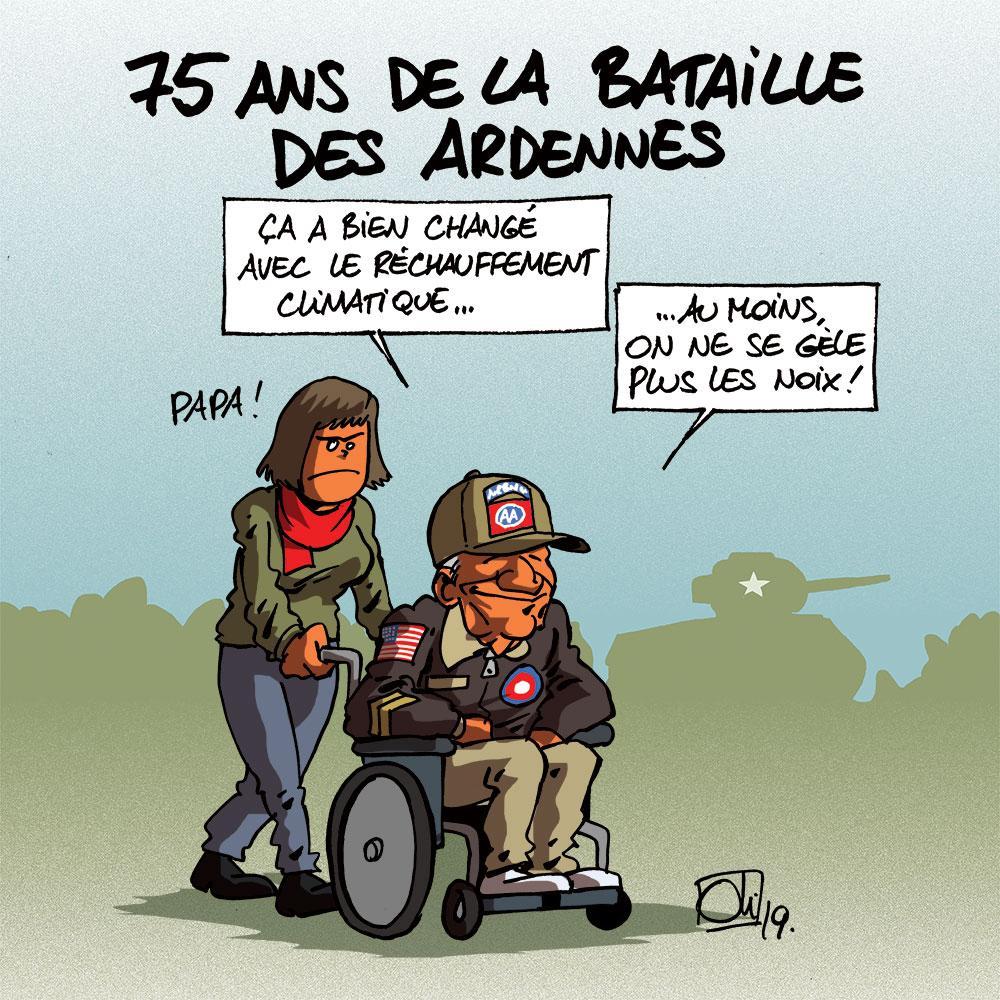 75 ans de la bataille des Ardennes