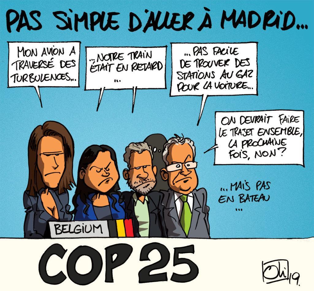 COP25 à la belge !