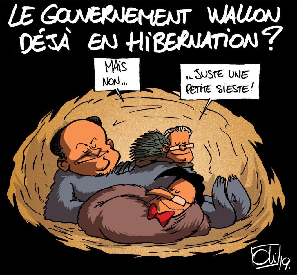 Le gouvernement Wallon dort-il ?