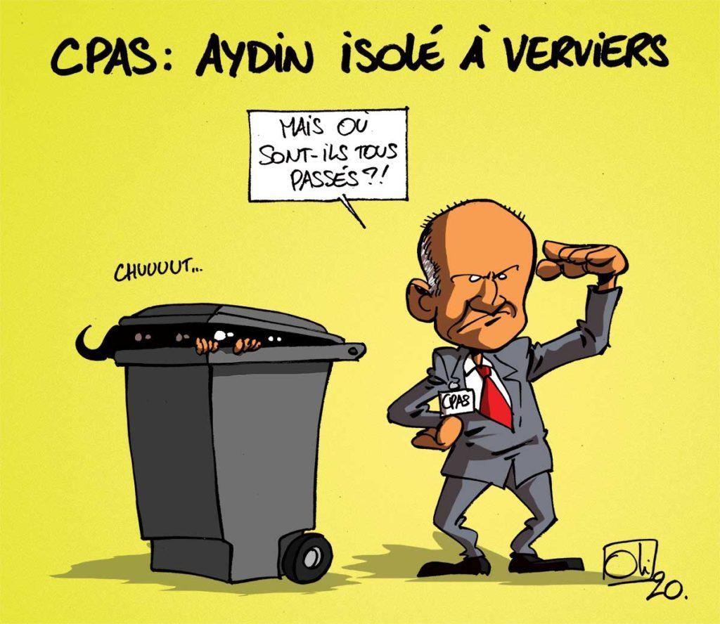 La ville de Verviers passe au poubelles à puce.