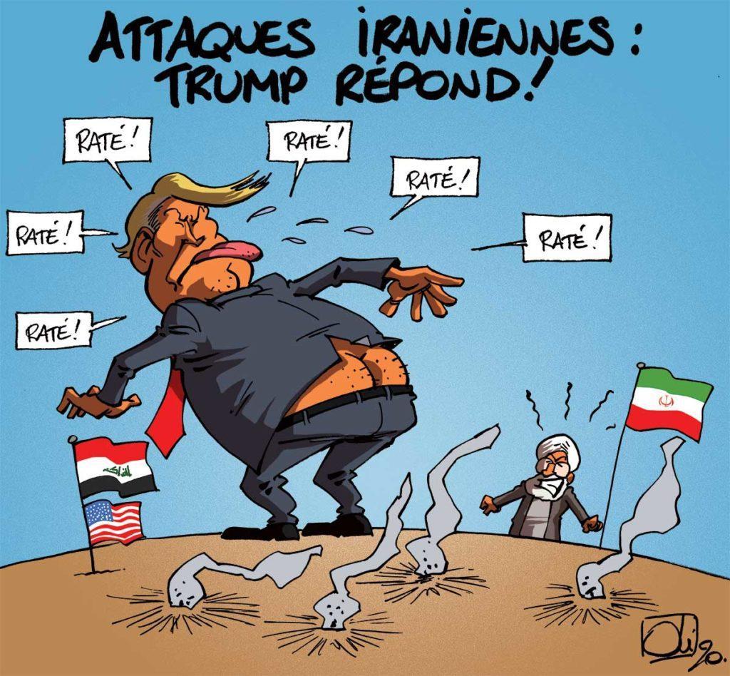 Trump nargue l'Iran