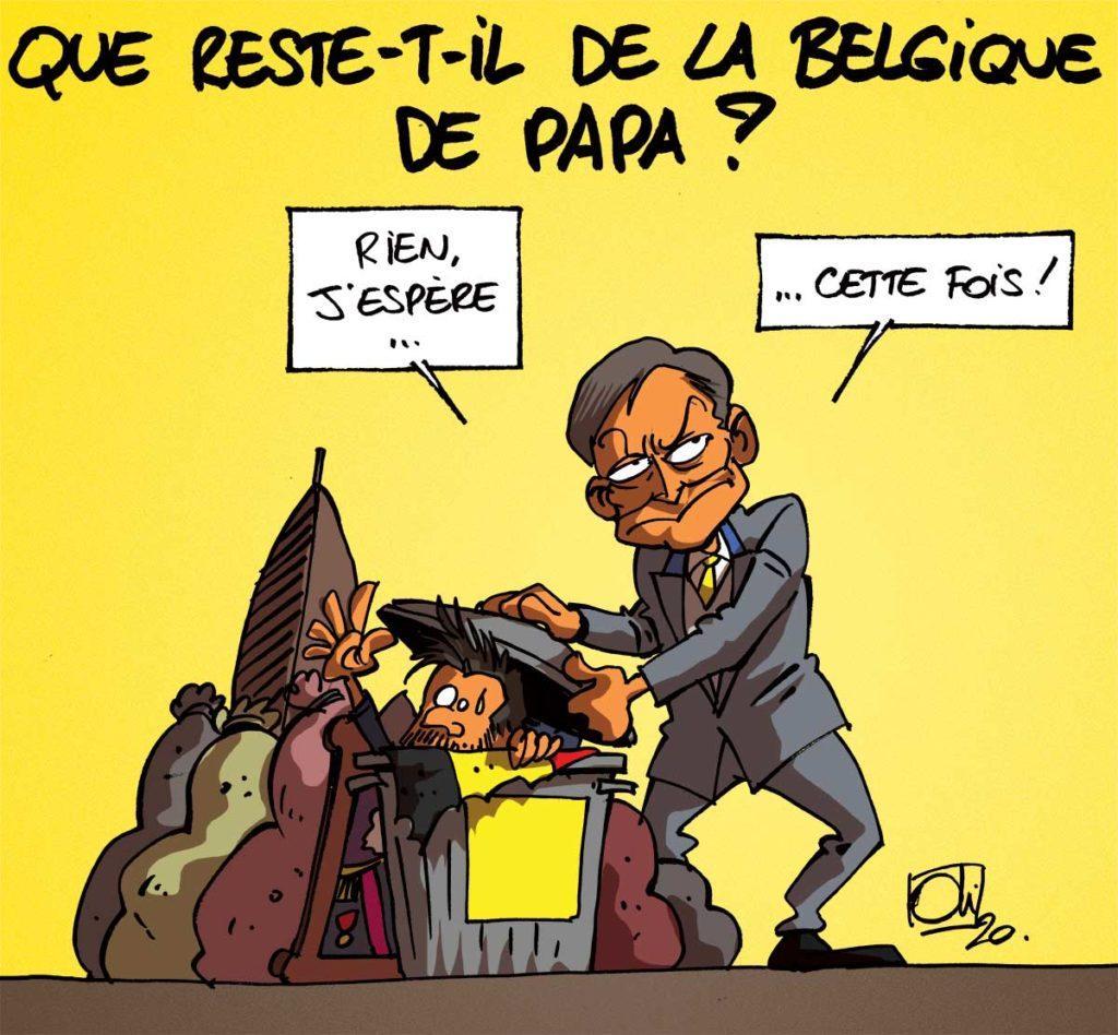 La Belgique de papa