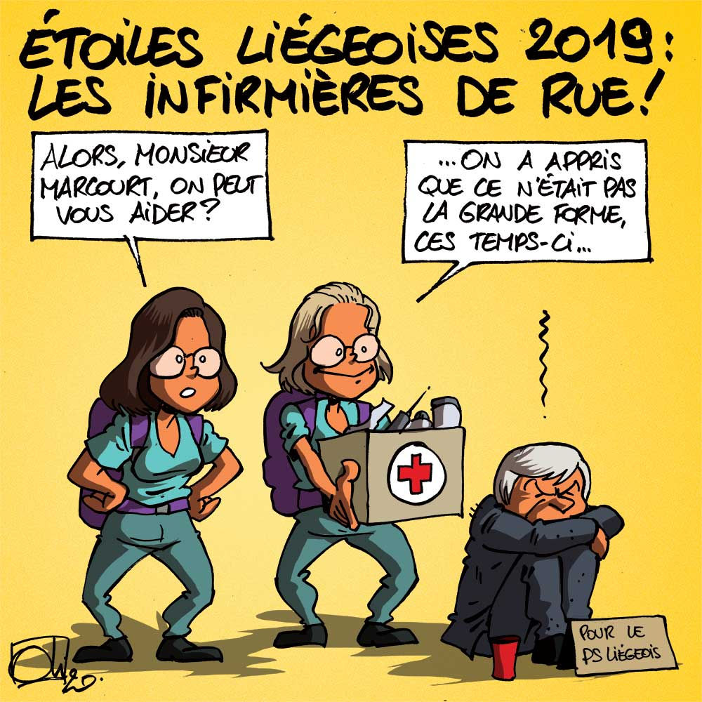 Les étoiles liégeoises 2019