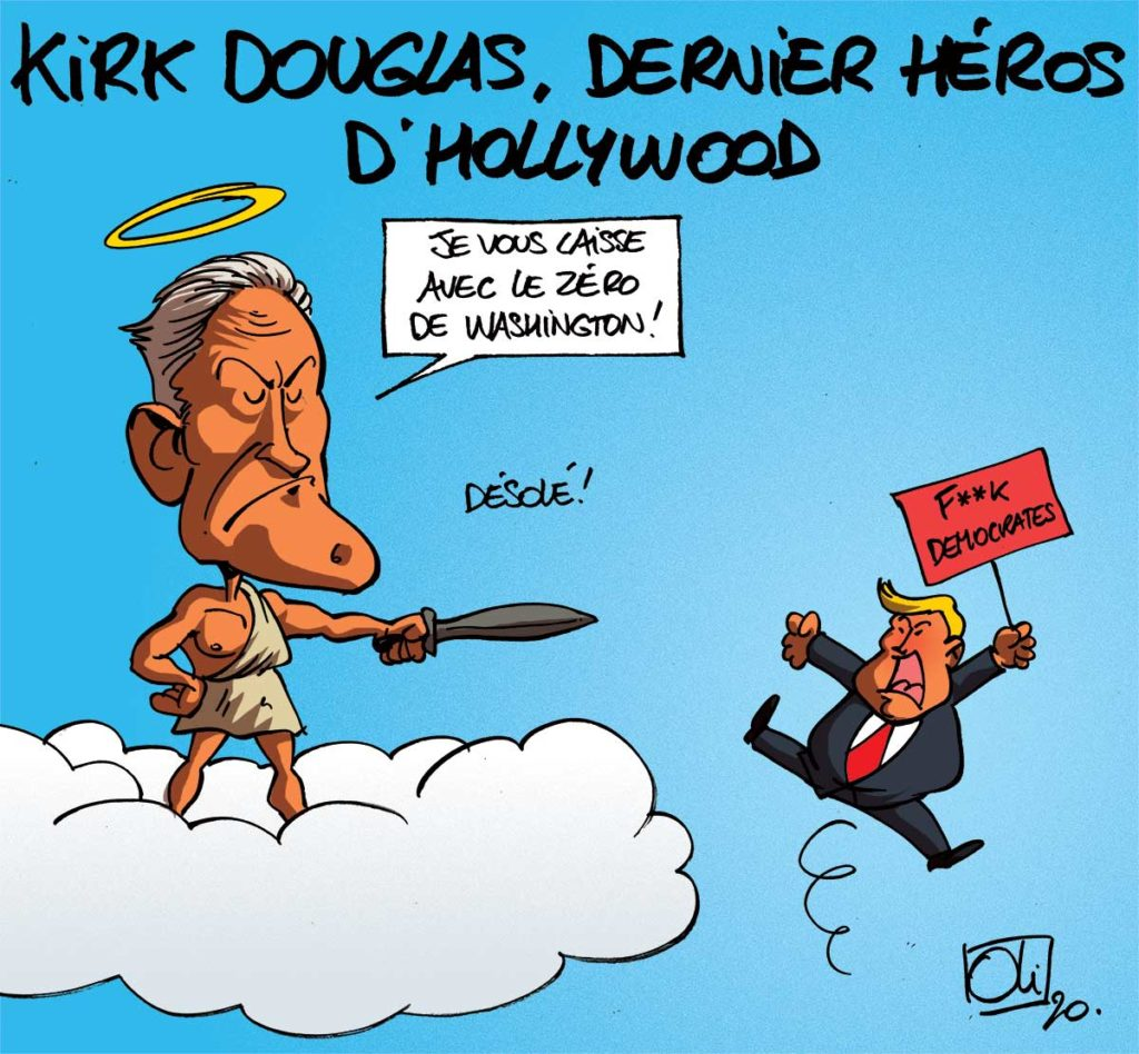 Kirk Douglas est mort