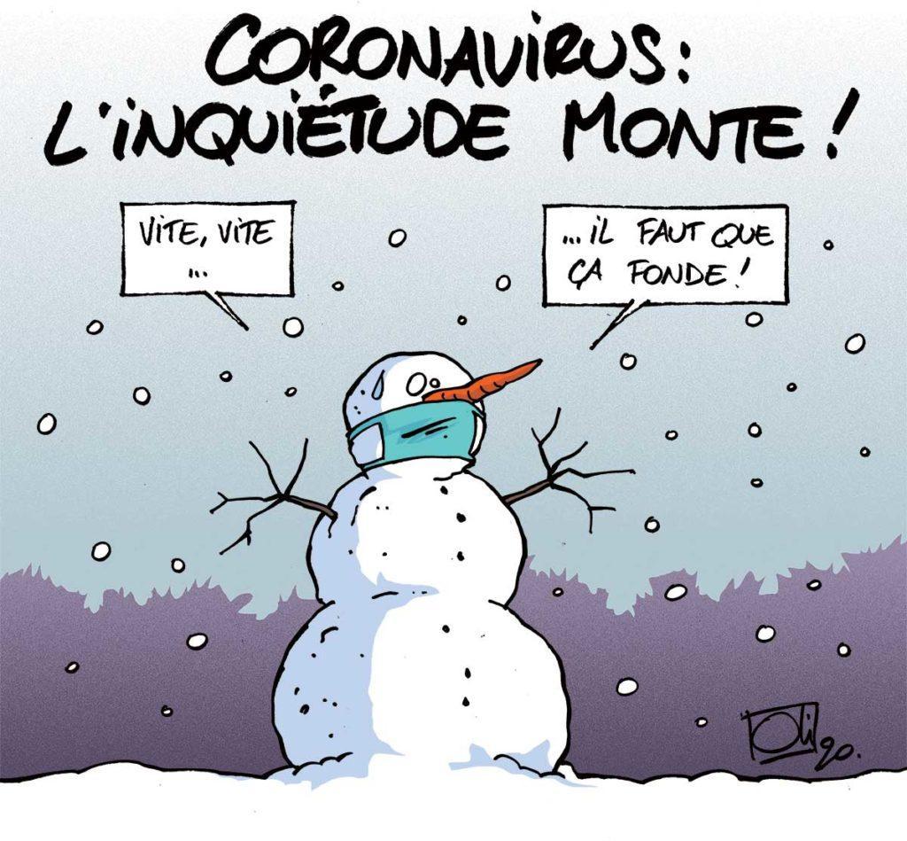 Le coronavirus se rapproche