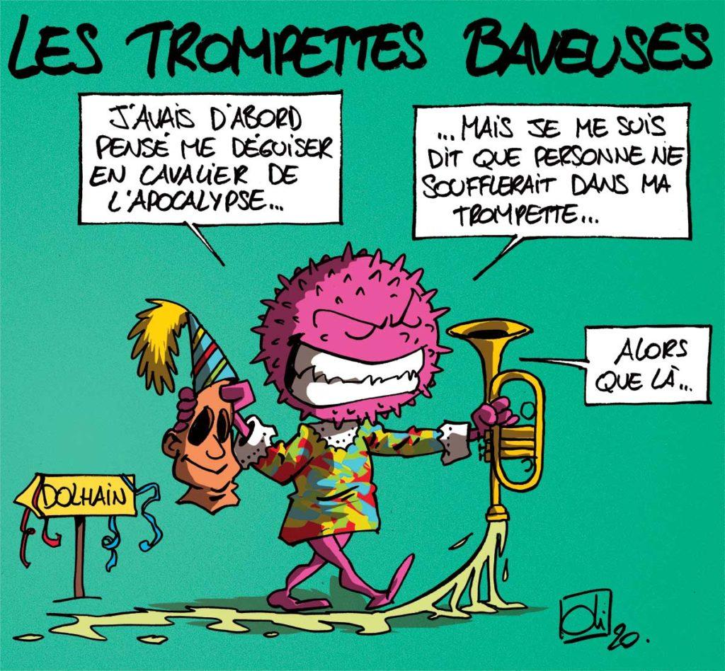 Les trompettes de l'apocalypse !