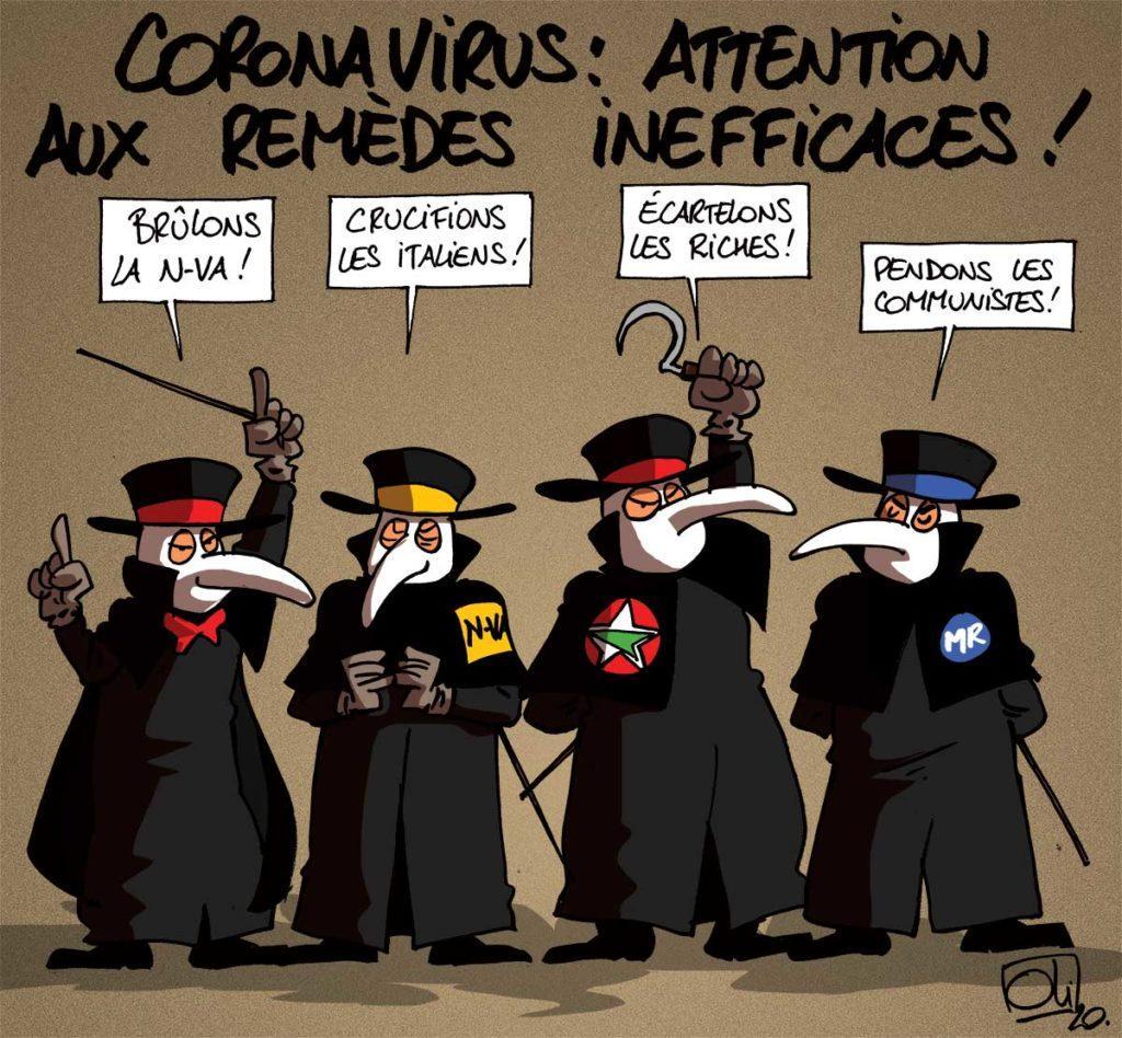 Coronavirus, Belgique et bonimenteurs !