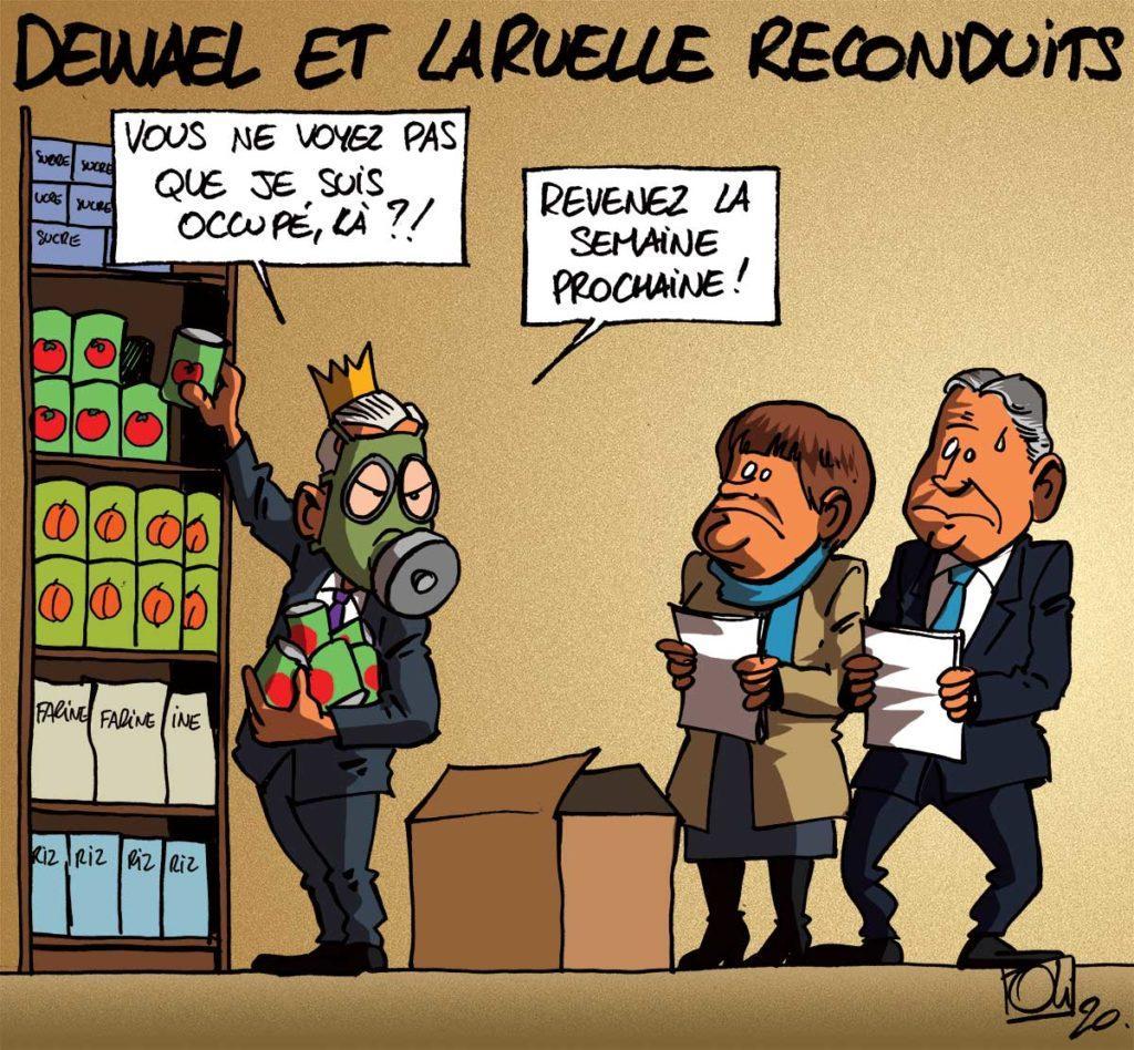 Dewael et Laruelle prolongés !