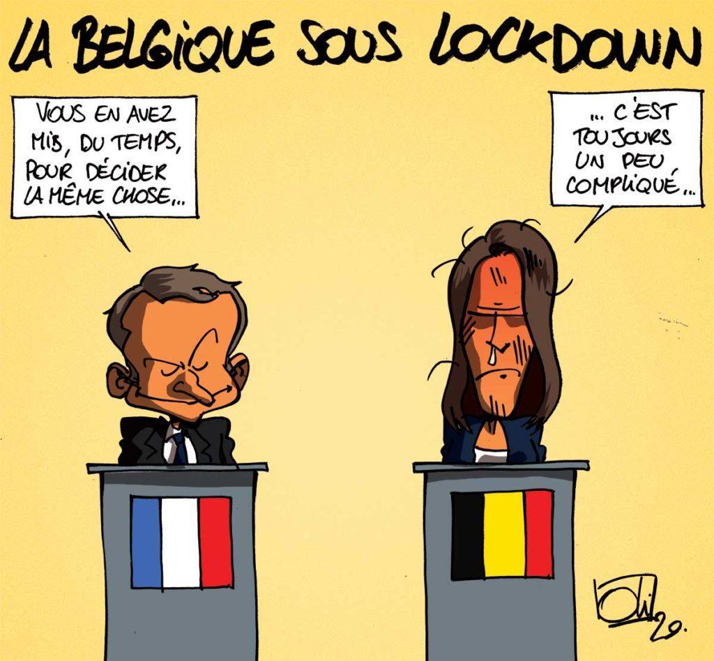 La Belgique à l'arrêt !