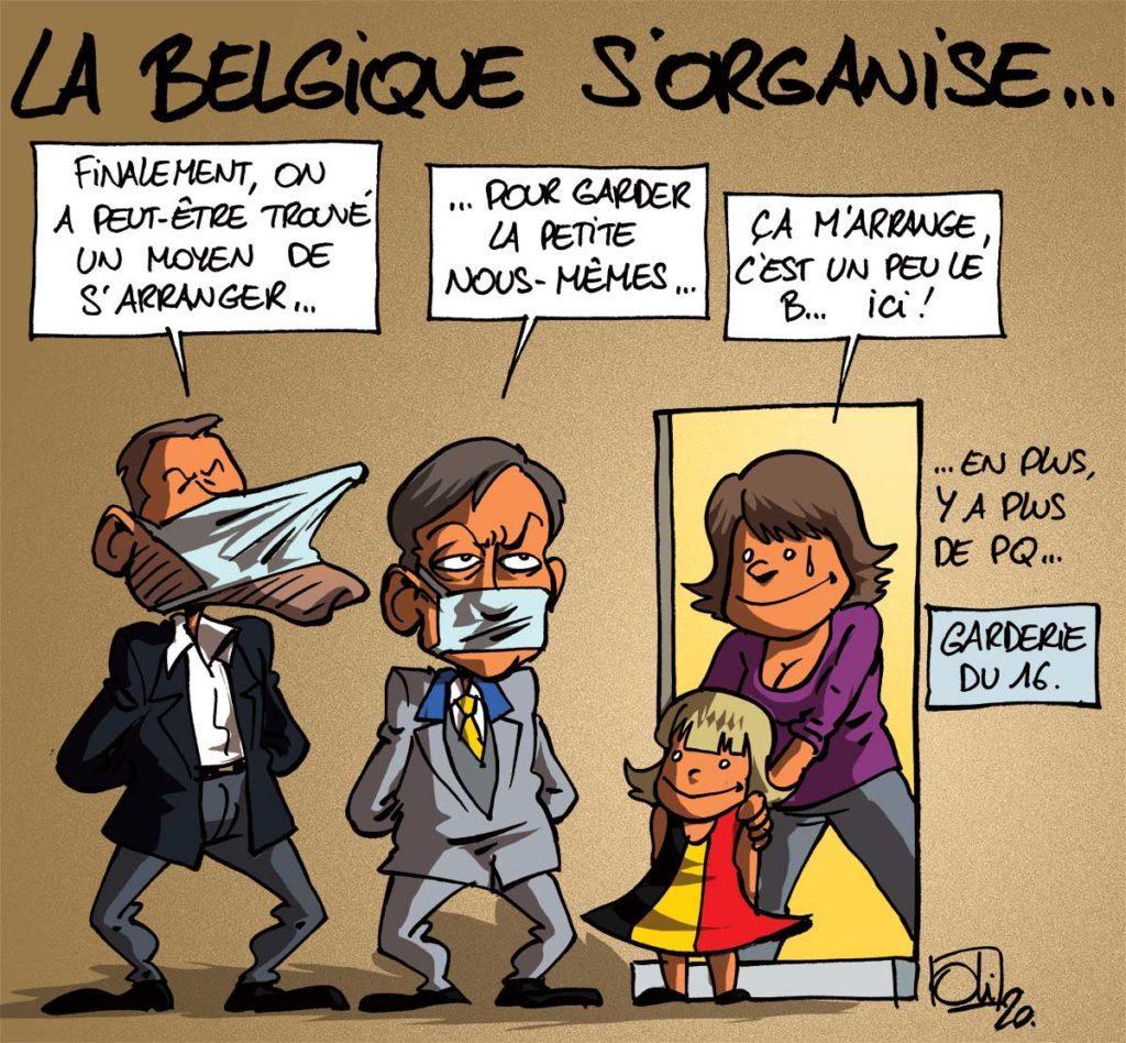 La Belgique s'organise !