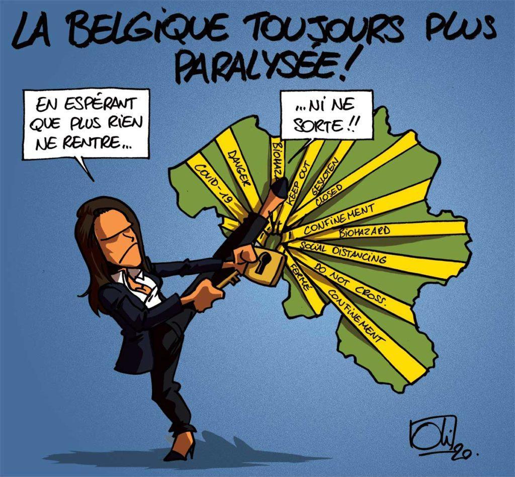La Belgique sous cloche !