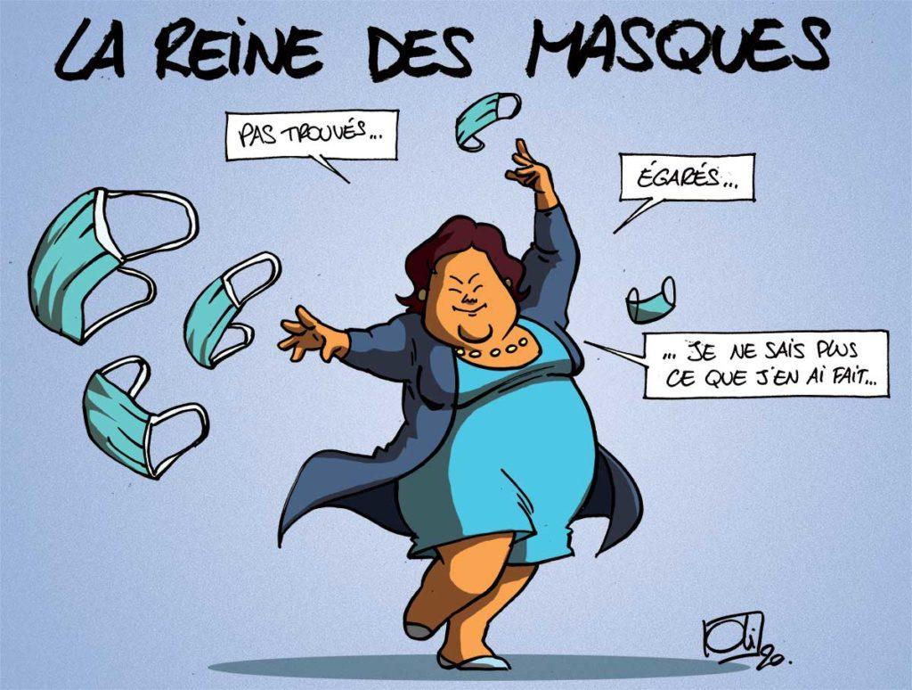 La reine des masques !