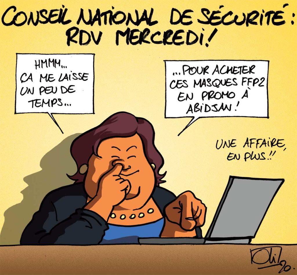 Conseil national de sécurité : RDV mercredi !