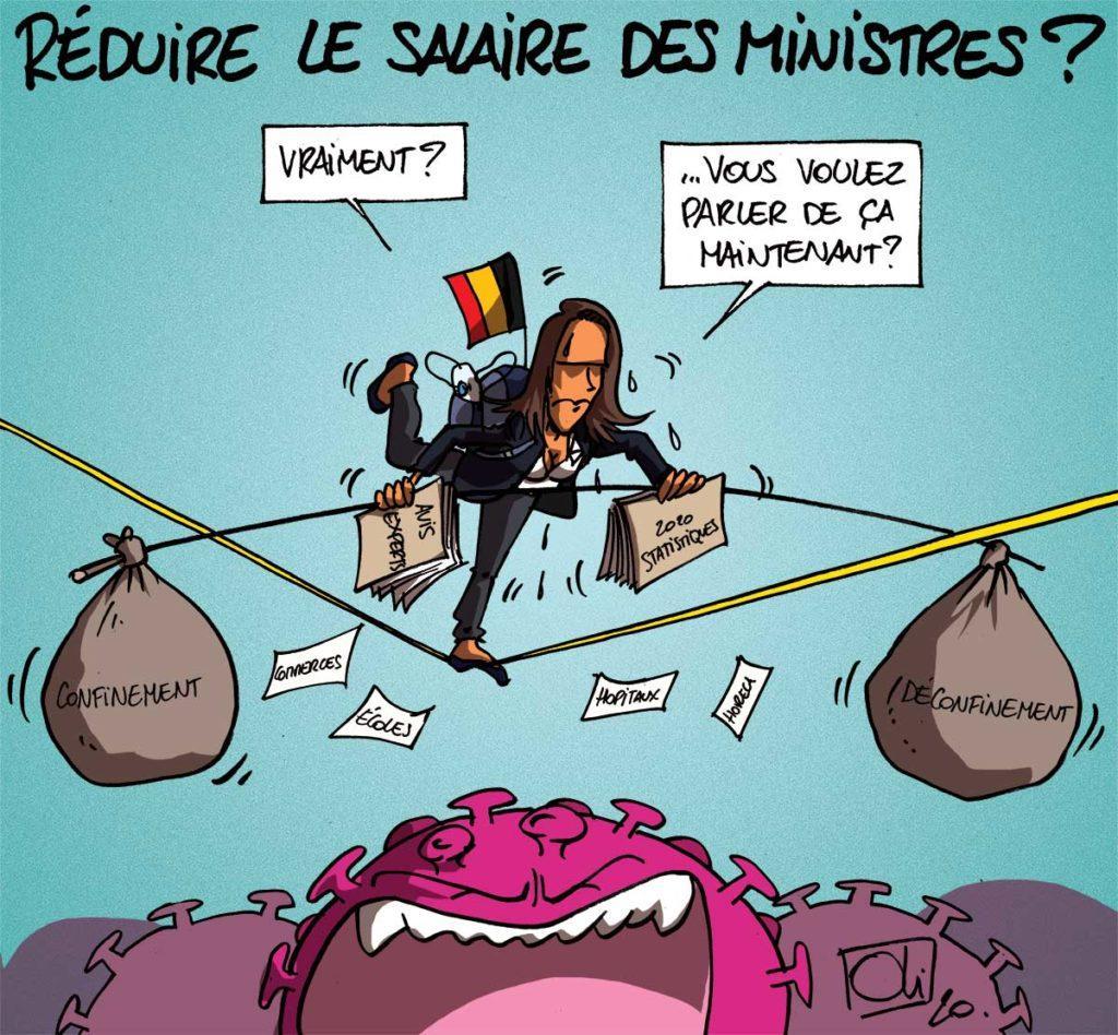 Réduire le salaire des ministres ?