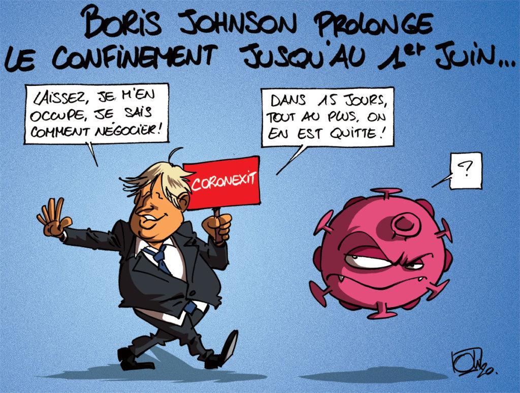 Boris Johnson allonge le confinement