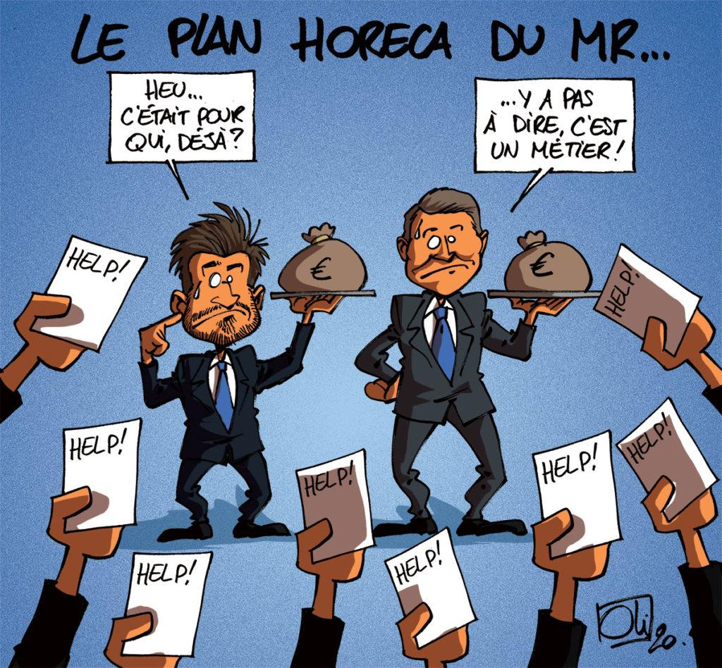 Plan de sauvetage pour l'Horeca