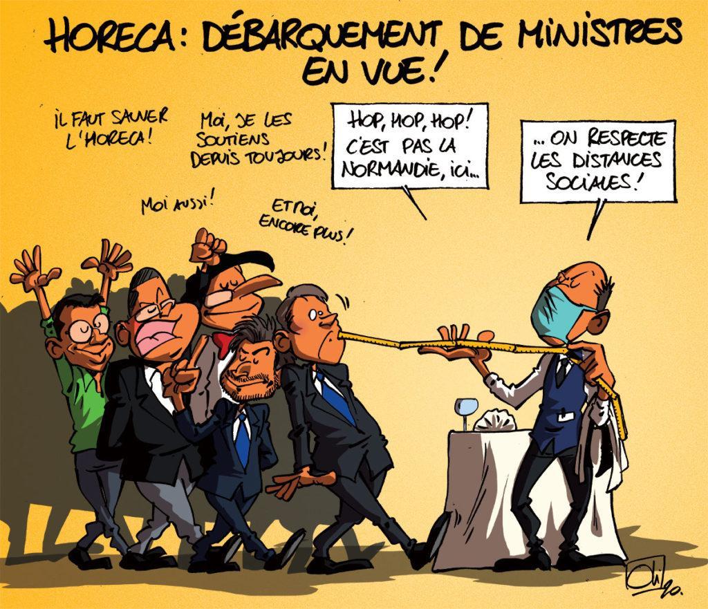 Le Jour-J pour l'Horeca approche : attention au débarquement !