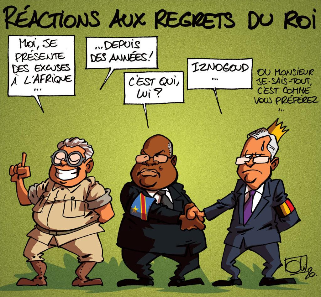 Regrets du roi : les réactions !