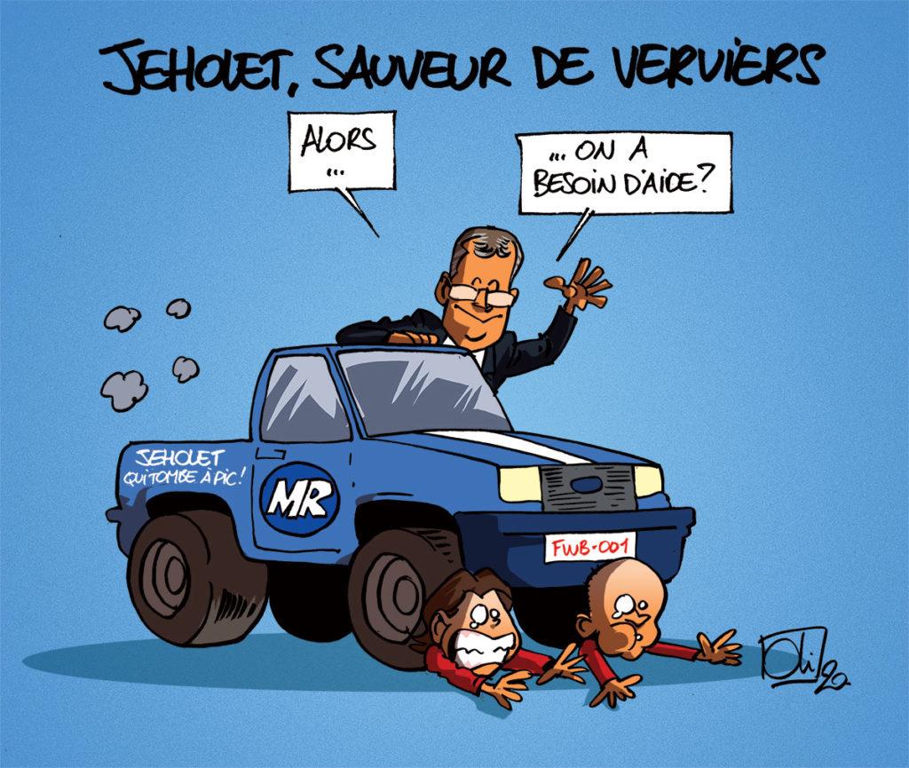 Jeholet peut-il sauver Verviers ?