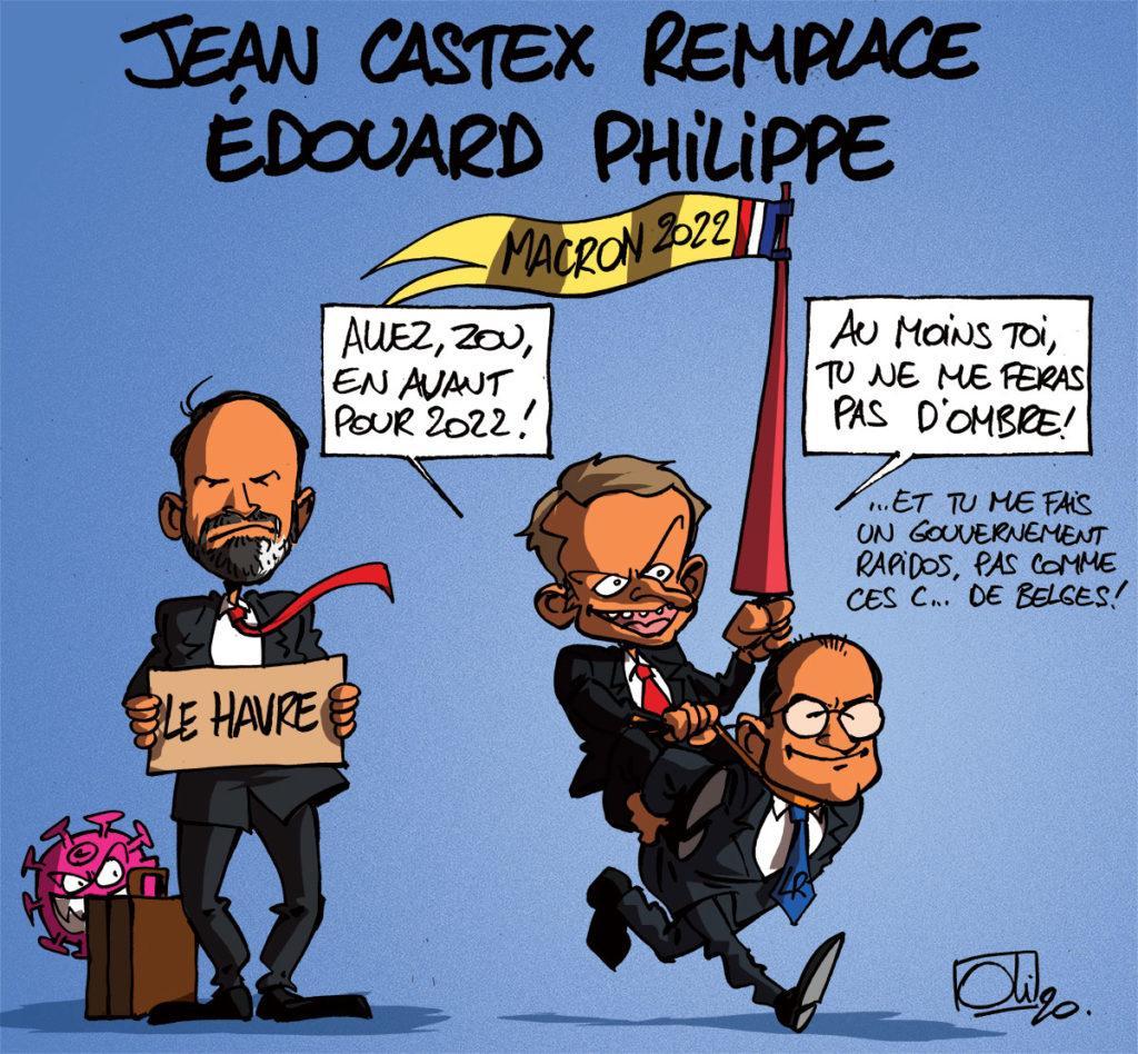 Jean Castex succède à Edouard Philippe