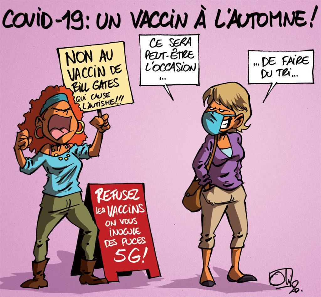 Le vaccin Covid-19 à l'automne