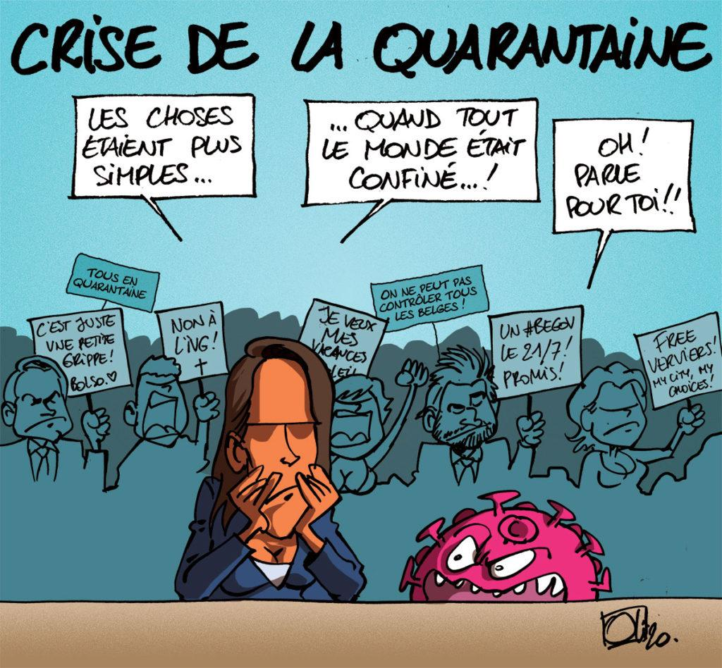 Quarantaine !