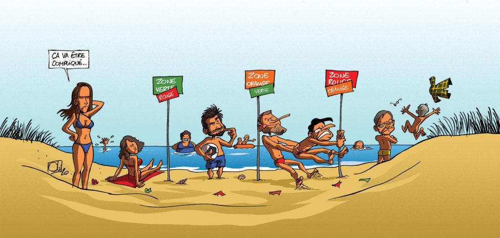 Vacances en quarantaine