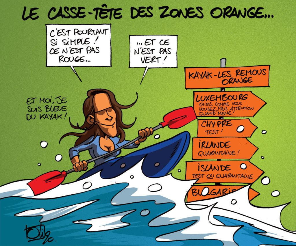 Zones orange : le casse-tête !