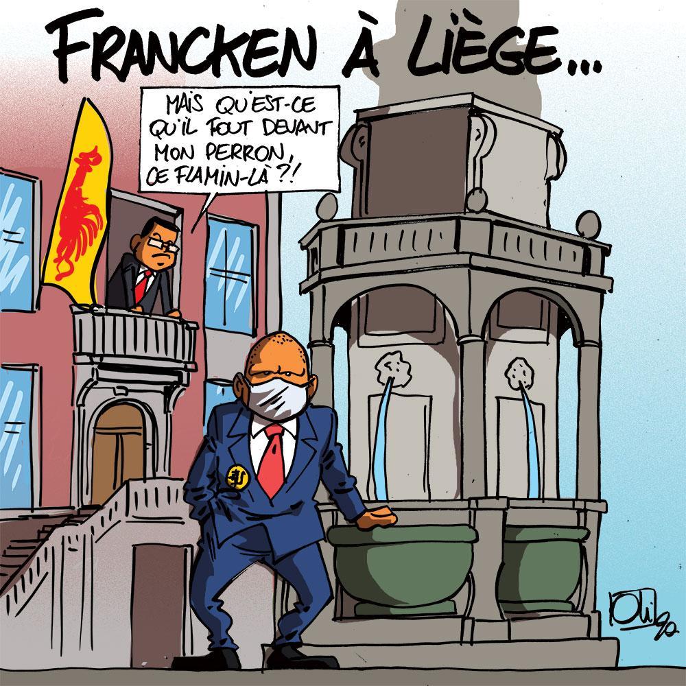 Francken à Liège