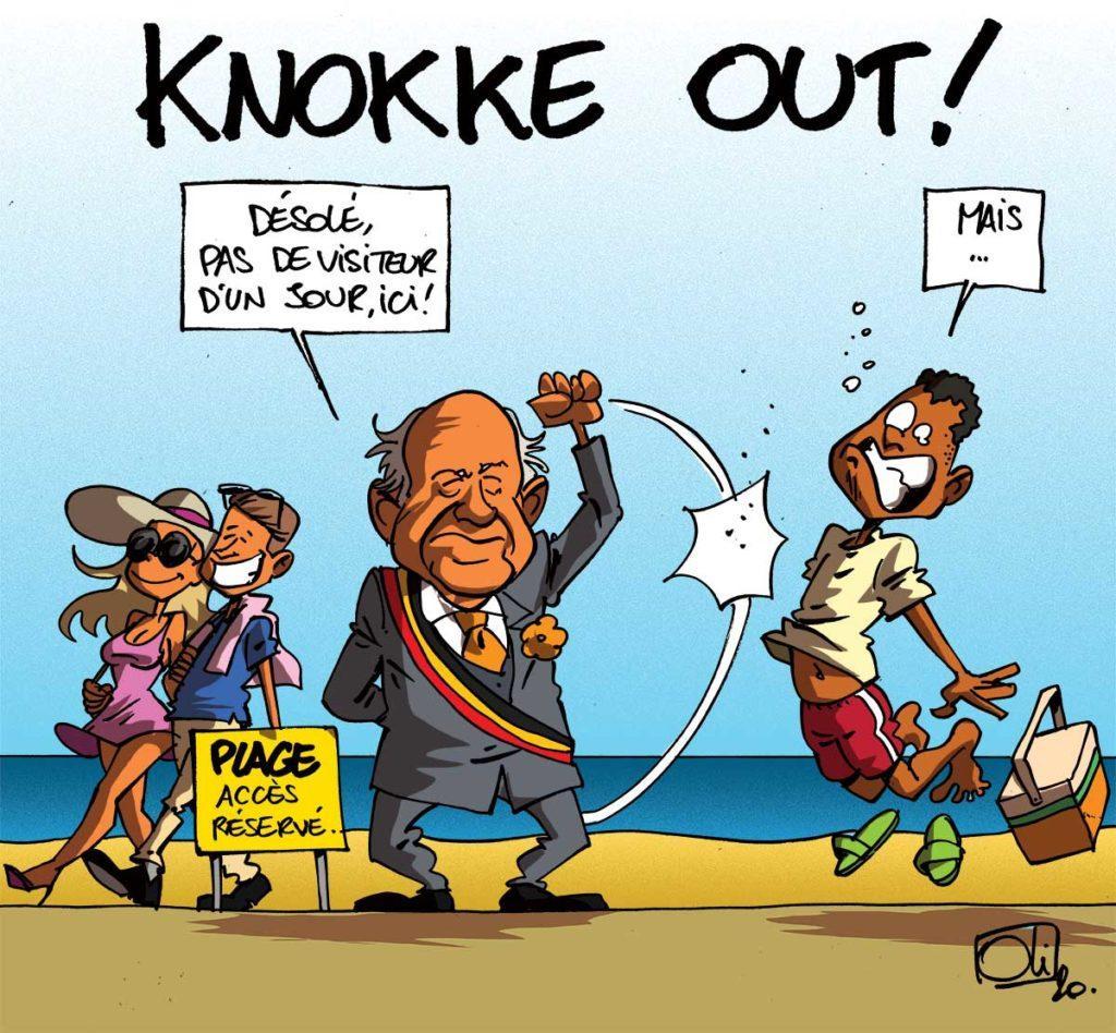 Knokke out !