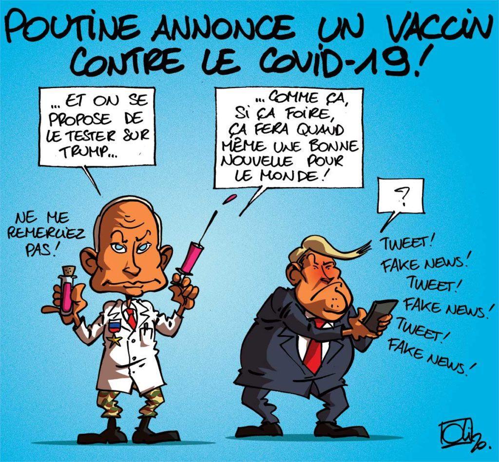 Un vaccin russe contre le covid-19