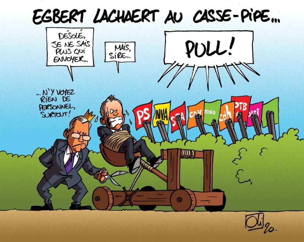 Au tour d'Egbert Lachaert !