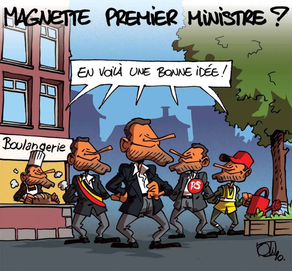 Paul Magnette peut tout faire