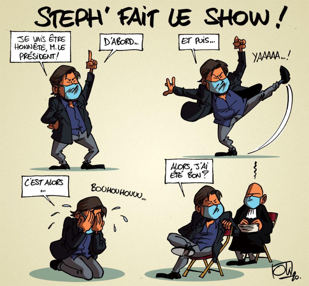 Steph fait le show !