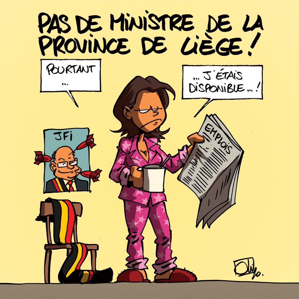 Muriel Targnion ministre ?