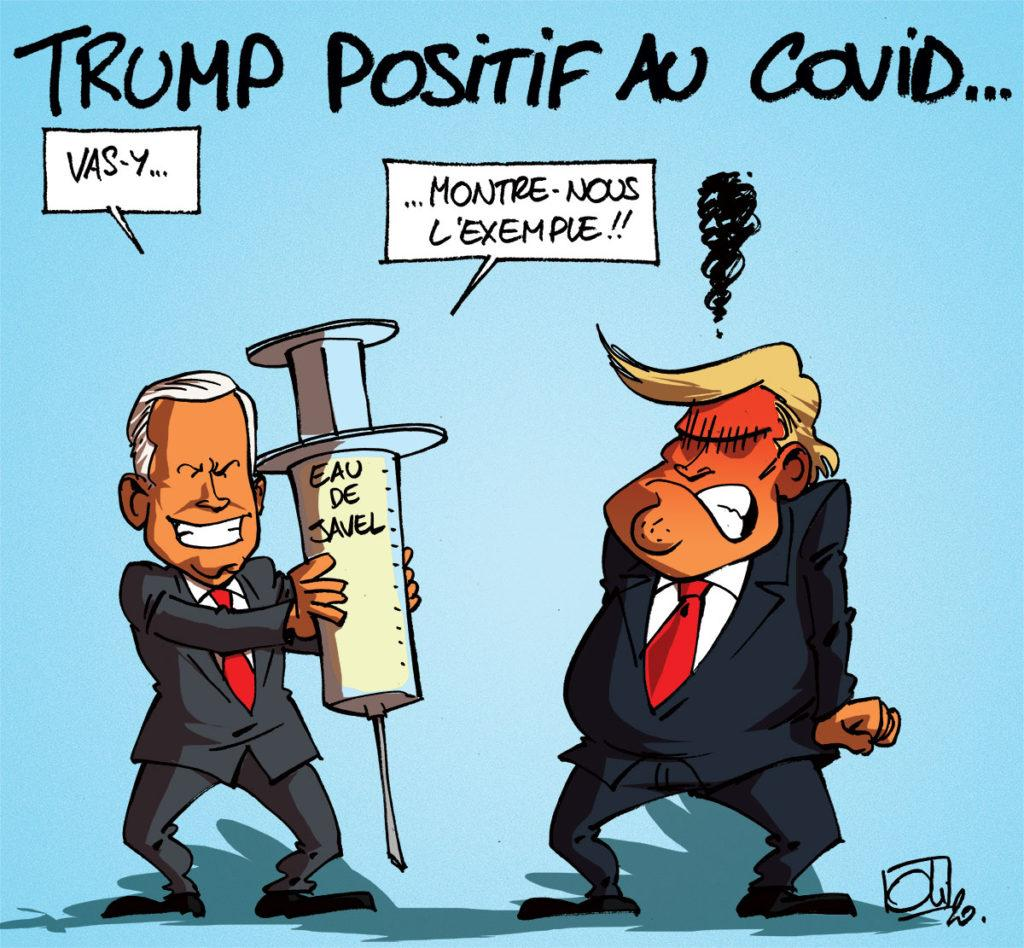 Trump positif au Covid