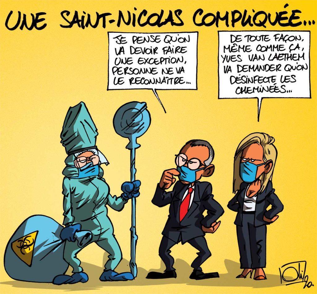 Saint-Nicolas confiné