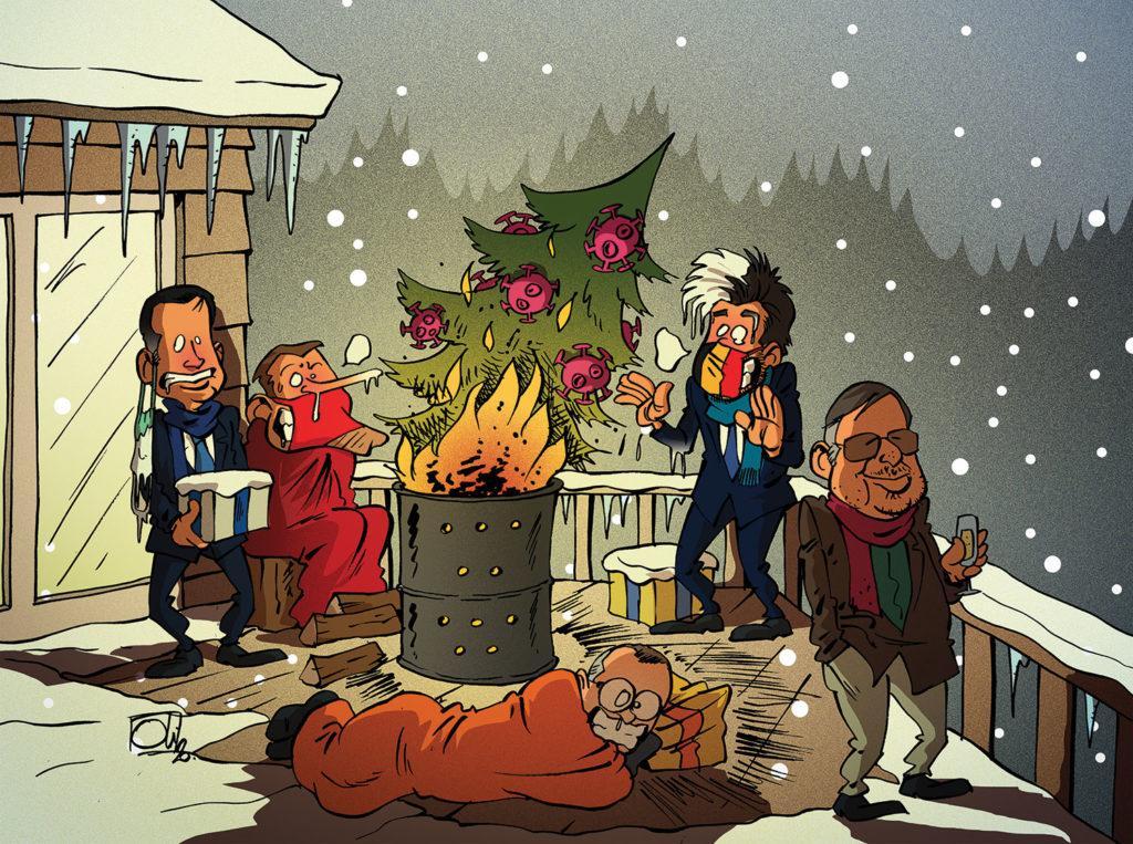 Noël au balcon...