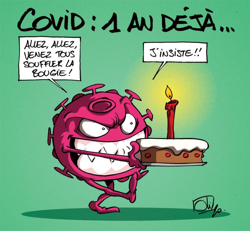 Covid-19 : déjà 1 an !