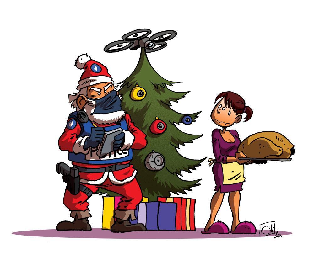 Noël sous surveillance