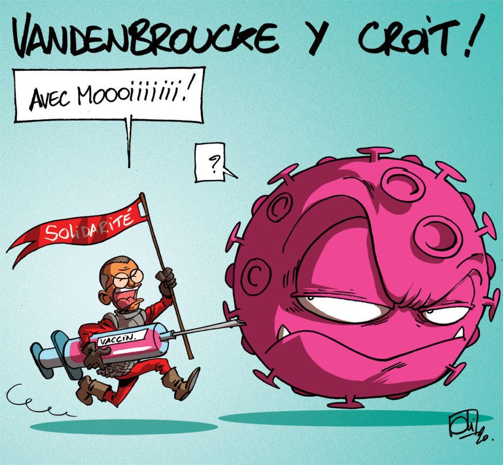 Le vaccin et la solidarité, c'est la recette de Frank Vandenbroucke pour vaincre le Covid-19 !